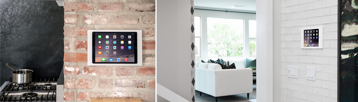 IPORT Surface Mount, the iPad wall mount by IPORT in home applications.